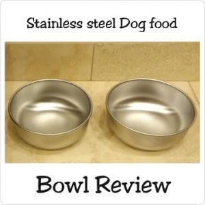 Gorgeous Stainless Steel Dog Bowls