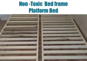 NonToxic Platform BedFrame